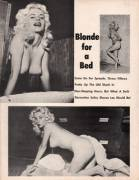 Blonde For A Bed 1960 Sharon Lee