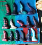 Our complete Bad Dragon collection
