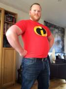 Mr new favourite tshirt. Mr Incredible is my idol!