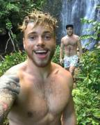 Gus Kenworthy & His Boyrfriend - English-born American Freestyle Skier