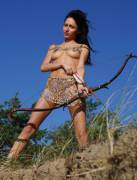 Leopard Skinned Archer (x-post from NSFWCostumes)