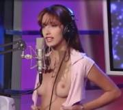 21 year old Jenna shows tits on Howard Stern