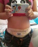 Borrowed some pampers from my little cousin, they fit!