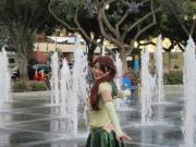 I was Diapered Latex Sailor Jupiter at Fanime!