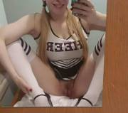 Ever wanted to bang a cheerleader? [f]
