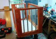 Cage project with padded top
