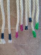 Rope tip: Use nail polish to color code your rope and keep it from fraying!