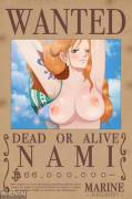 Nami's new wanted poster