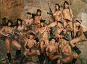 (MilitaryGoneWild) 12 Hot Naked Chicks with Guns by rednerrus2012