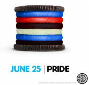 Leather Pride Oreo - Imgur (xpost from r/ainbow)