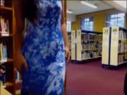 [GIF]Caught flashing the camera and pulling out a toy in the library (x-post /r/holdthemoan)