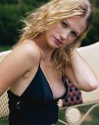 January Jones, aka Emma Frost in X Men First Class