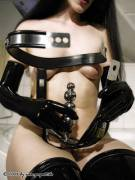 Puppett Putting on a Chastity Belt