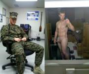 In and Out of Uniform