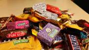 That's a bunch of Halloween candy TVU, are you going to share with the children?