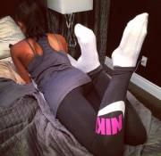 Relaxing in yogapants
