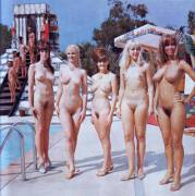 Vintage Nude Beauty Contest Girls