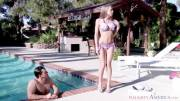 Shawna Lenee fucks by the pool